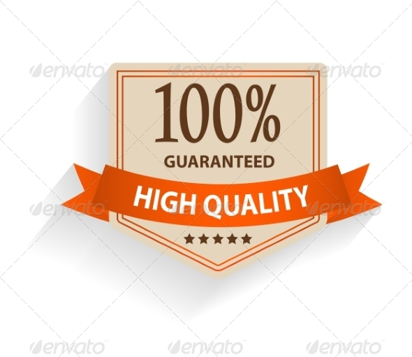 Satisfaction Guaranteed Label - Web Technology
