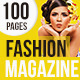 100 Pages Fashion Magazine Issue 4 - GraphicRiver Item for Sale