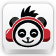 Music Panda Logo - GraphicRiver Item for Sale