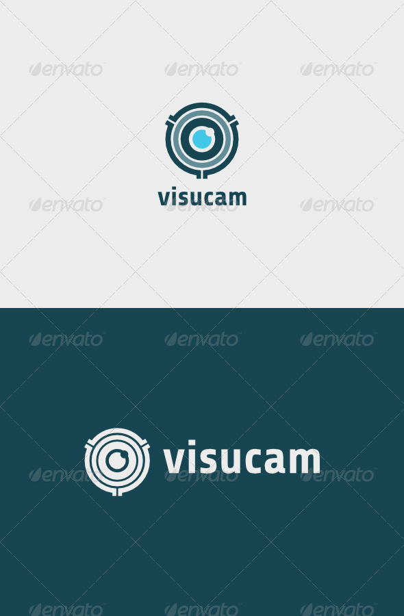 Visucam Logo - Objects Logo Templates