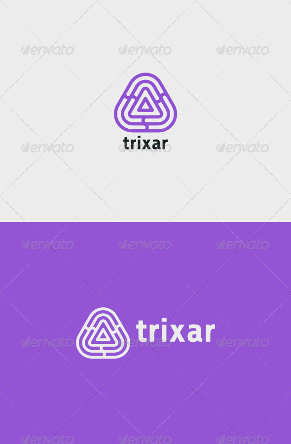Trixar Logo - Vector Abstract