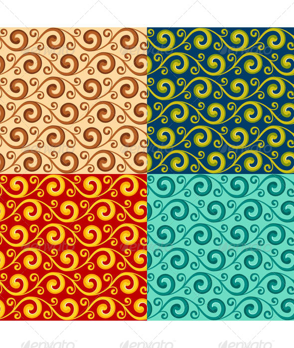 Swirly Pattern - Patterns Decorative
