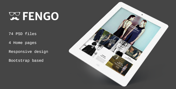 Fengo – Responsive eCommerce PSD Template