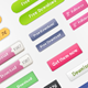32 Stylish Web Buttons  - GraphicRiver Item for Sale