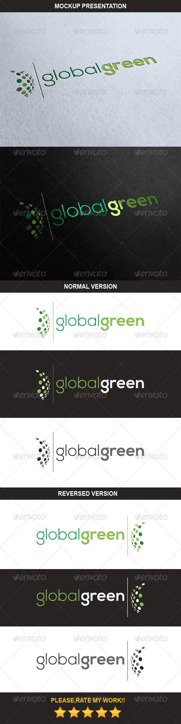 Global Green Logo - Nature Logo Templates