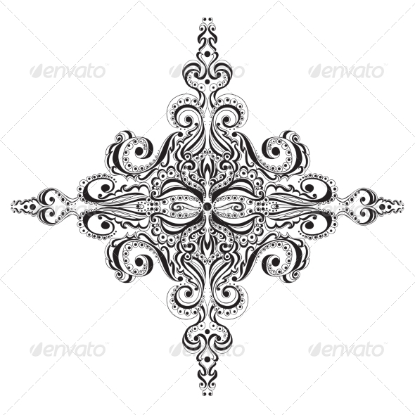 Ornament - Flourishes / Swirls Decorative