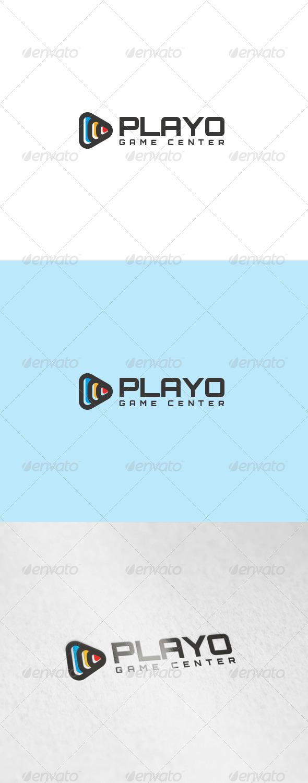 Playo Logo - Symbols Logo Templates