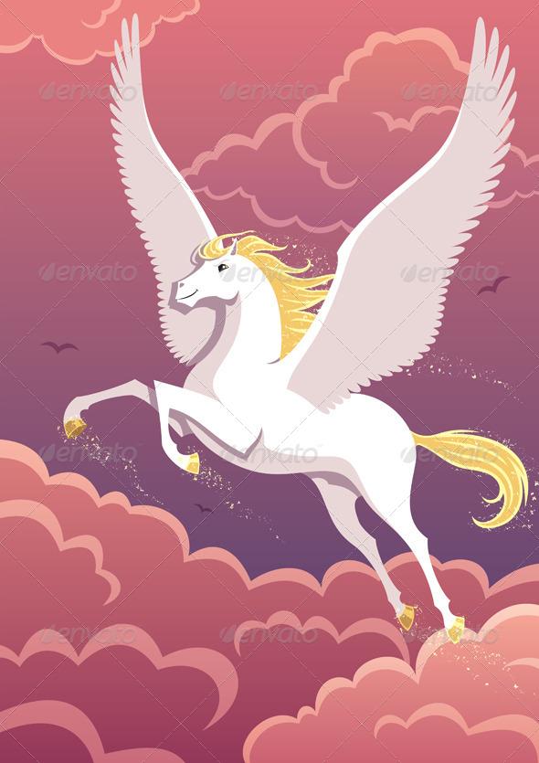 Pegasus - Animals Characters