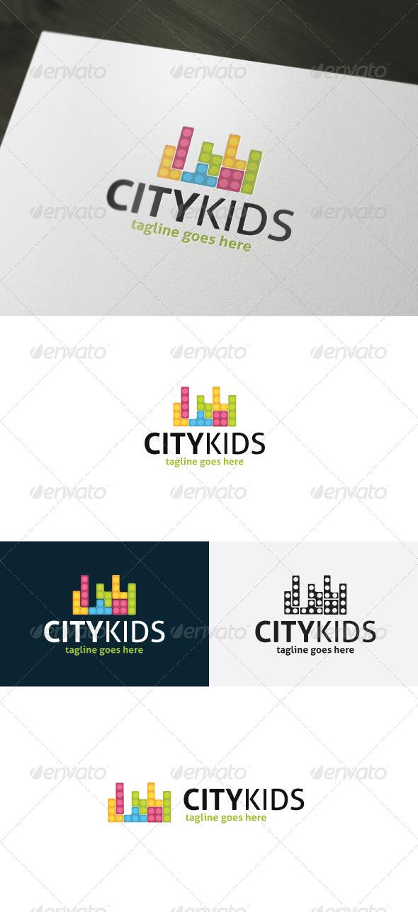 City Kids Logo - Logo Templates