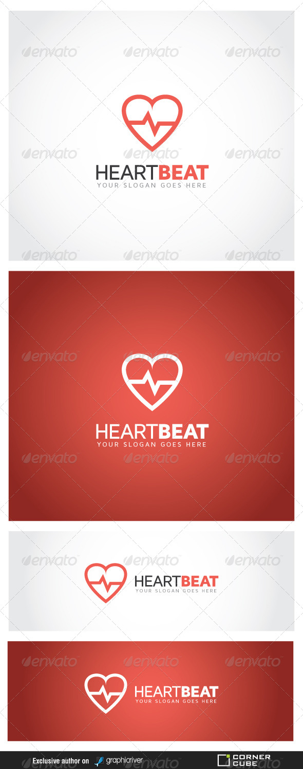 Heart Beat Logo - Logo Templates