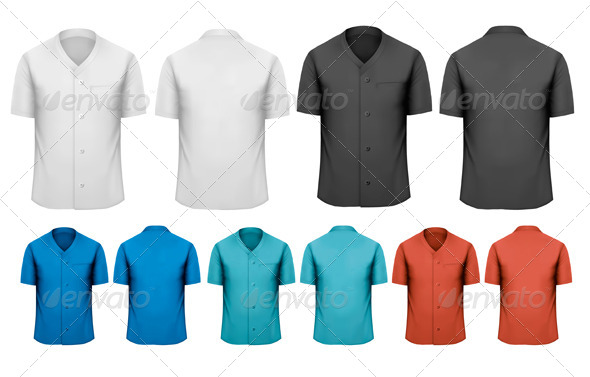 Set of Work Shirts - Commercial / Shopping Conceptual
