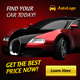 Automotive Banner ad Design - GraphicRiver Item for Sale
