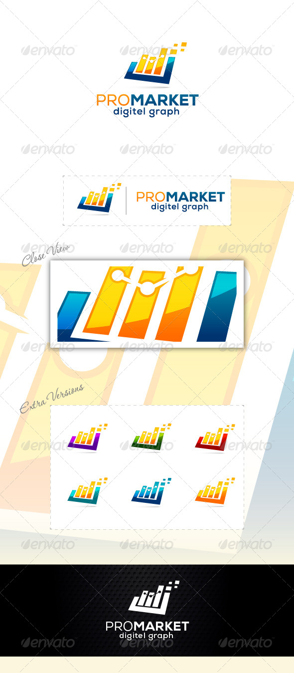 Digitel Marketing - Abstract Logo Templates