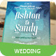 Beach Style Wedding Invitation Card - GraphicRiver Item for Sale