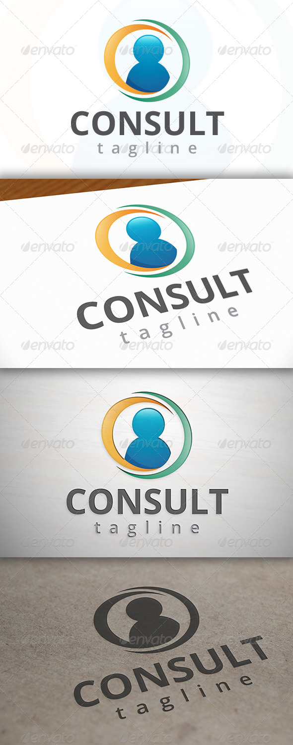 Consult Logo - Humans Logo Templates