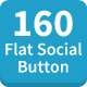 160 Modern Flat Style Button - GraphicRiver Item for Sale