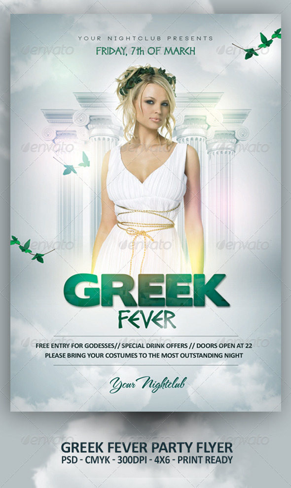 Greek Fever Party - Clubs & Parties Events