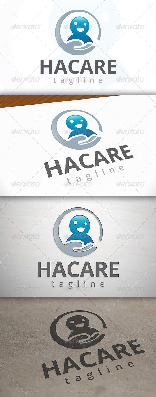 Happy Care Logo - Humans Logo Templates