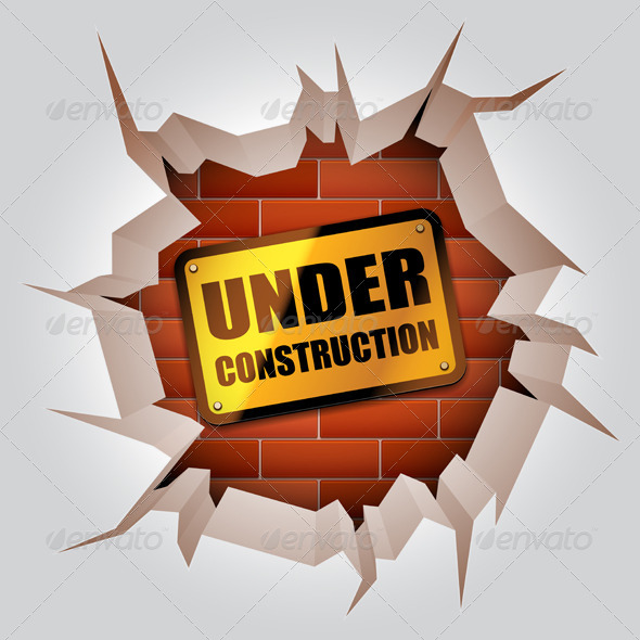 Under Construction Concept - Conceptual Vectors
