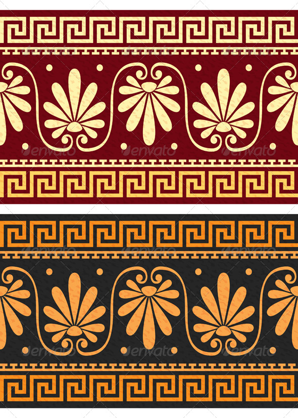 Frieze with Greek Ornament - Patterns Decorative