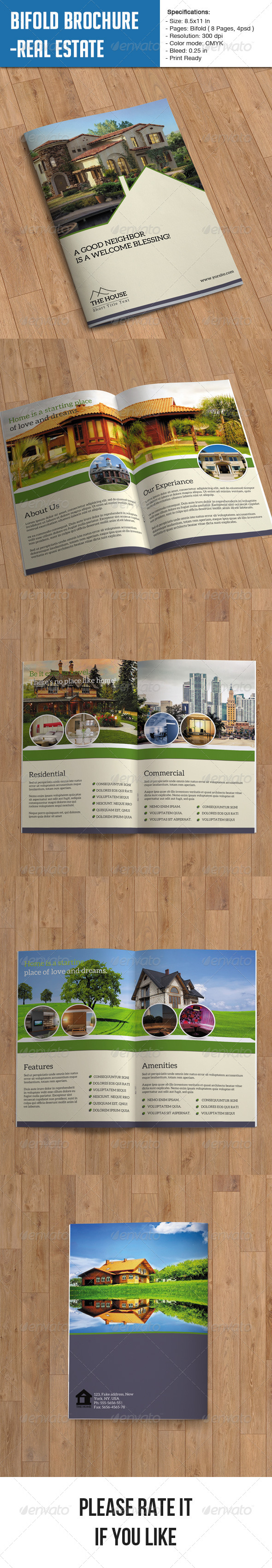 Real Estate Brochure - 8 Page - Corporate Brochures