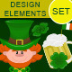 Design Elements for St Patrick's Day - GraphicRiver Item for Sale