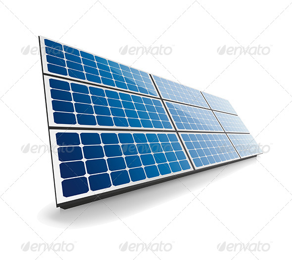 Isolated Solar Panel - Technology Conceptual