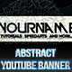 Abstract - YouTube One Channel Design Banner - GraphicRiver Item for Sale