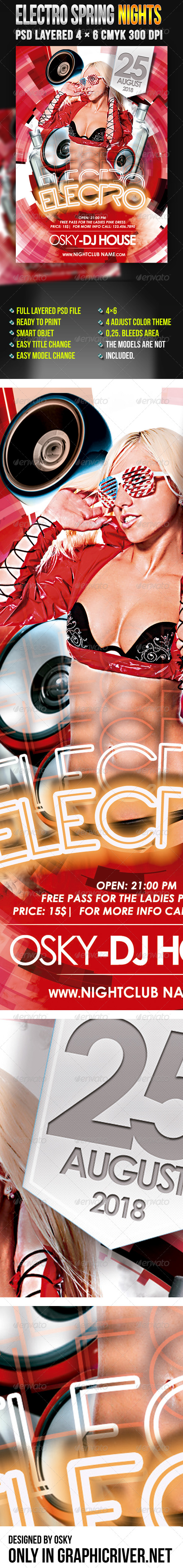 Electro Spring Nights - Clubs & Parties Events