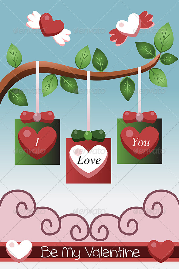Valentine Card Design - Valentines Seasons/Holidays