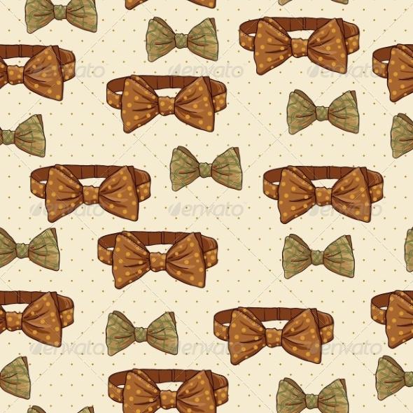 Seamless Vintage Hipster Background - Patterns Decorative