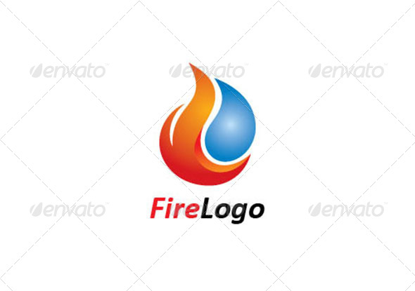 Fire Logo Template - Logo Templates