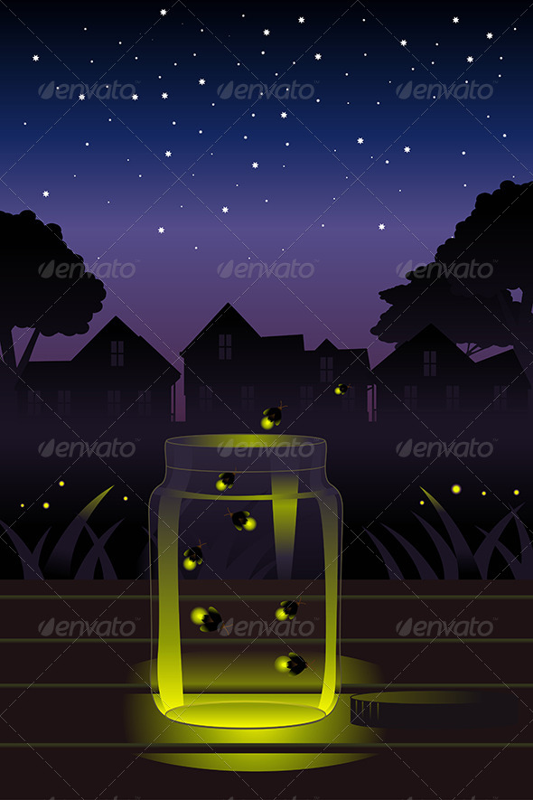 Fireflies in the Jar - Conceptual Vectors