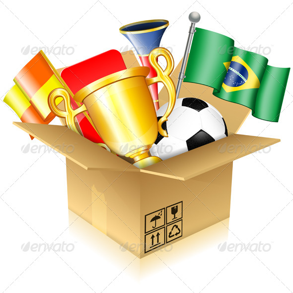 Soccer Items - Sports/Activity Conceptual