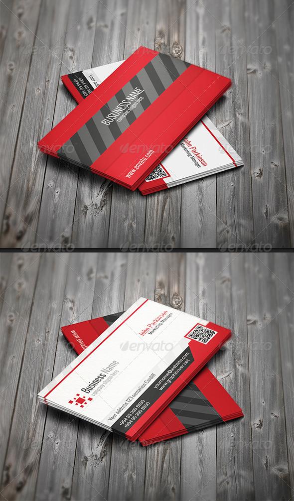 Corporate Business Card N-002 - Corporate Business Cards