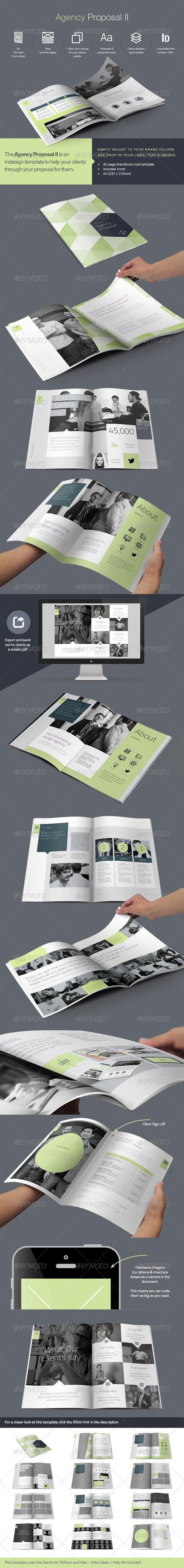 Agency Proposal II - Brochures Print Templates