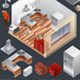 kitchen Isometric Vector - GraphicRiver Item for Sale