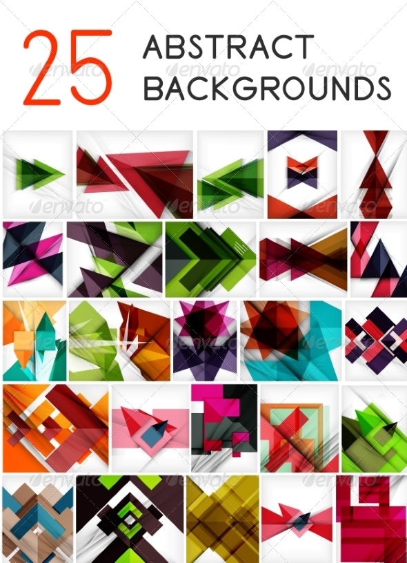 Geometric Backgrounds - Backgrounds Decorative