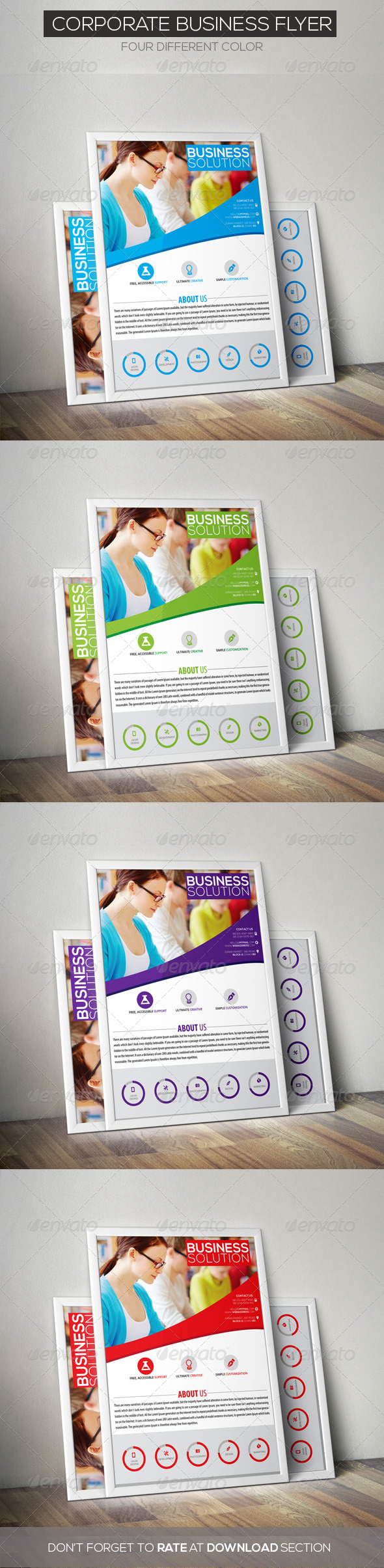 Corporate Business Flyer - Corporate Flyers