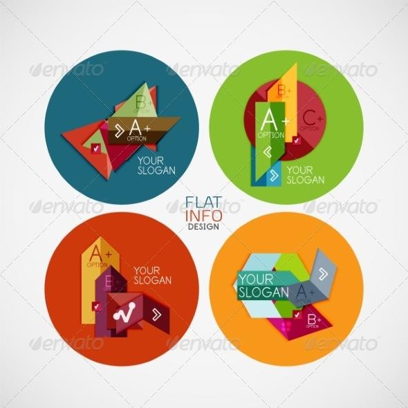 Infographic Banners - Miscellaneous Vectors