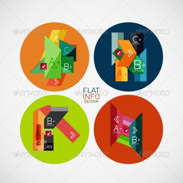 Infographic Banners - Miscellaneous Vectors