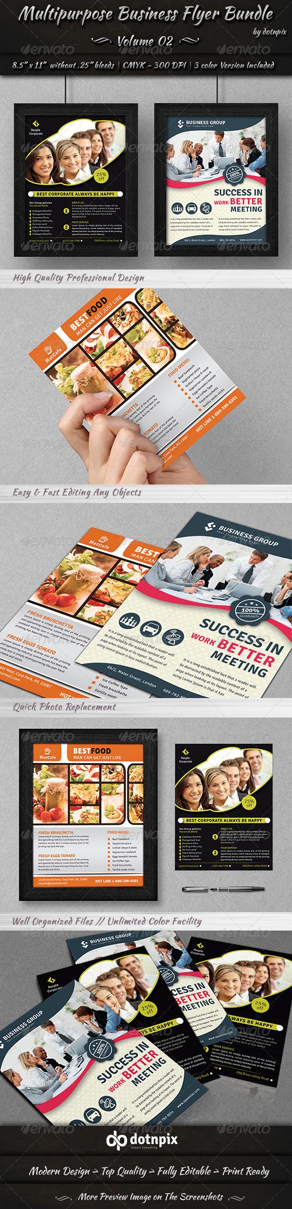 Multipurpose Business Flyer Bundle | Volume 2 - Corporate Flyers