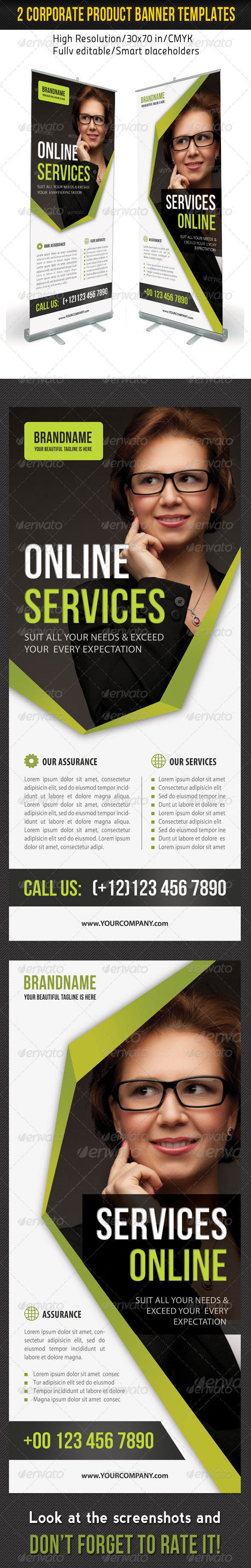 Corporate Multipurpose Banner Template 41 - Signage Print Templates