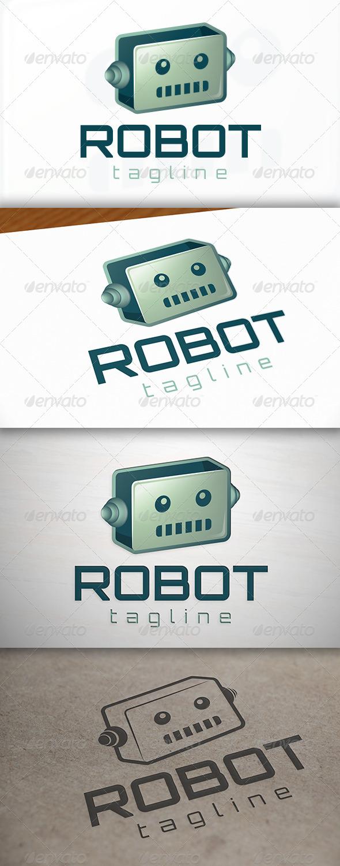 Robot Logo - Objects Logo Templates