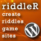 Riddler: Create Your Own Brain Teasing Game Sites - CodeCanyon Item for Sale