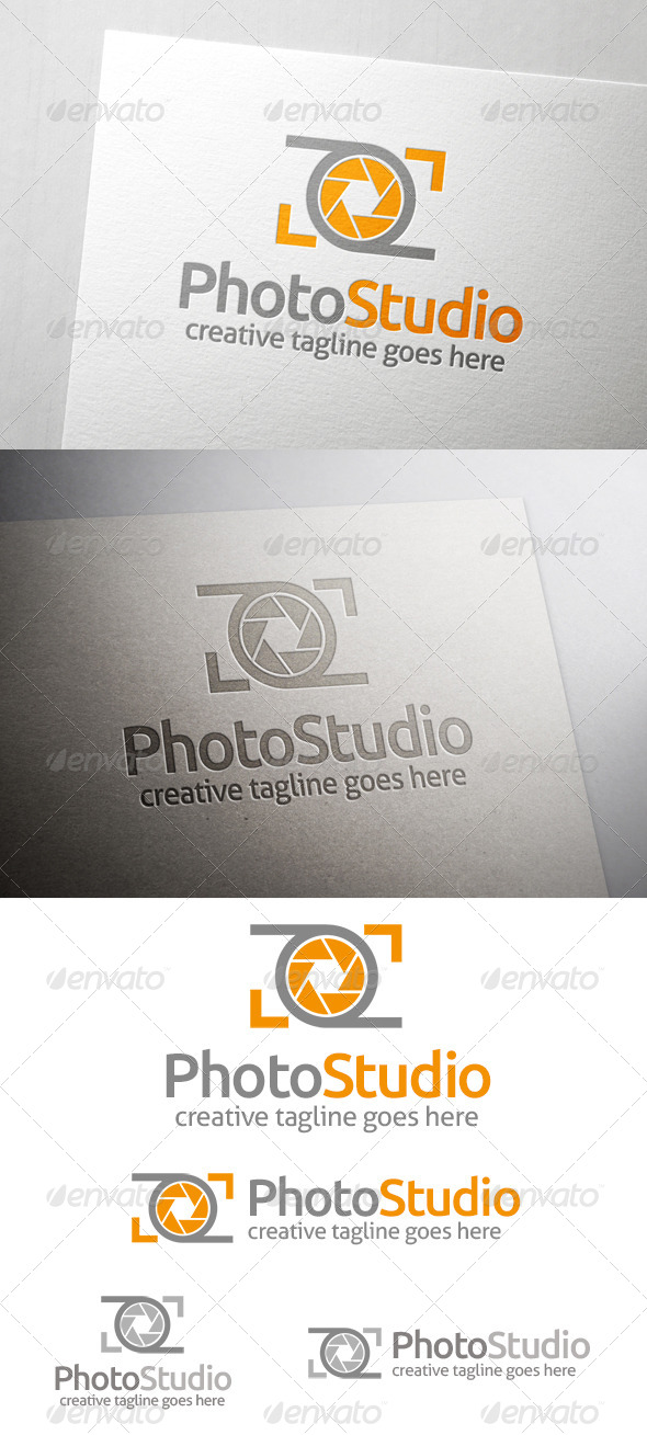 Photo Studio Logo - Symbols Logo Templates