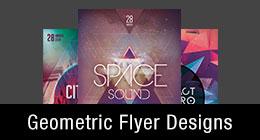 * Geometric Flyer Templates