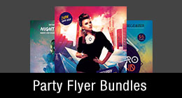 * Party Flyer Bundles