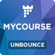 MYCourse - Unbounce eCourse Landing page Template Nulled