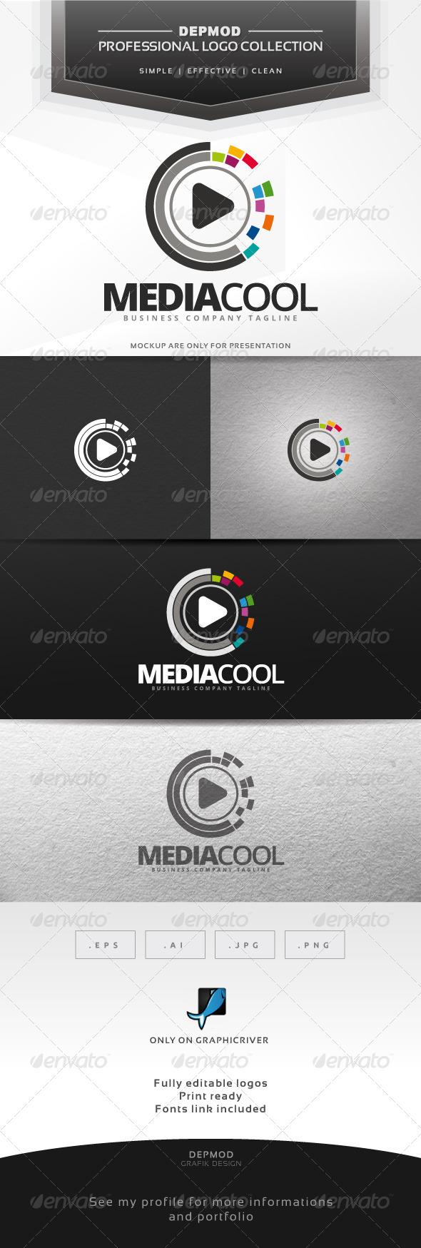Media Cool Logo - Symbols Logo Templates